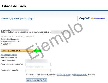 Paypal - Paso 3